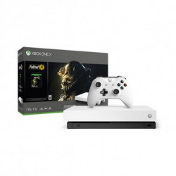 Sony Xbox One X + Fallout 76 53518 1 TB 4K HDR White