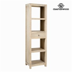 Shelves Mindi wood (190 x 52 x 36 cm) - Pure Life Collection by Craftenwood