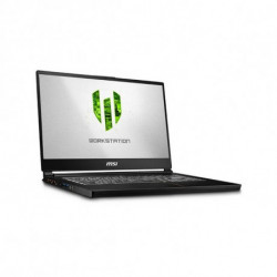 MSI Workstation WS65 8SK-490ES Noir Station de travail mobile 39,6 cm (15.6) 1920 x 1080 pixels Intel® Core™ i7 de 8e généra...