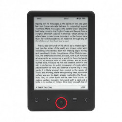 Denver Electronics EBO-630L lettore e-book 4 GB Nero