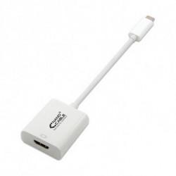 NANOCABLE Adaptateur USB C vers HDMI 10.16.4102 15 cm Blanc