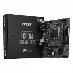 MSI H310M PRO-VDH PLUS placa base LGA 1151 (Zócalo H4) Micro ATX Intel® H310