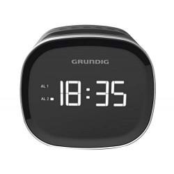 Grundig Rádio Despertador SCN 230 LED AM/FM 1,5 W Preto