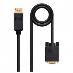 NANOCABLE Adaptador DisplayPort a HDMI 10.15.430 Negro 5 m