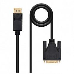 NANOCABLE Adattatore DisplayPort con VGA 10.15.440 Nero 3 m
