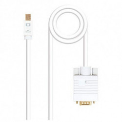 NANOCABLE Adaptador Mini DisplayPort para HDMI 10.15.400 Branco 2 m