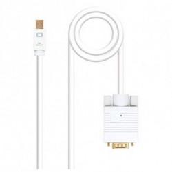 NANOCABLE Adattatore Mini DisplayPort con HDMI 10.15.400 Bianco 2 m