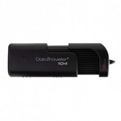 Kingston Technology DataTraveler 104 lecteur USB flash 64 Go USB Type-A 2.0 Noir