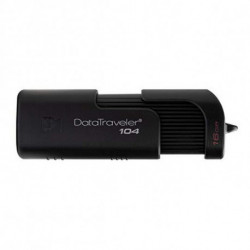 Kingston Technology DataTraveler 104 unità flash USB 64 GB USB tipo A 2.0 Nero