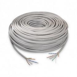 NANOCABLE Cable de Red Rígido UTP Categoría 6 10.20.0502 100 m Gris