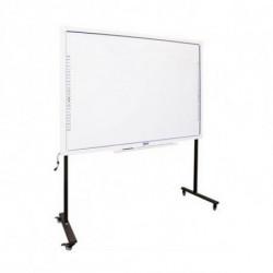 iggual Interactive Whiteboard + Stand with Wheels IGG314388+314364 82