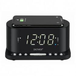 Denver Electronics CRQ-110 rádio Relógio Digital Preto