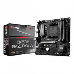 MSI Placa Base Gaming B450M BAZOOKA V2 mATX DDR4 AM4