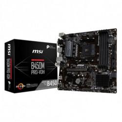 MSI Mainboard Gaming B450M PRO-VDH PLUS mATX DDR4 AM4