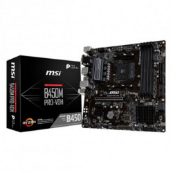 MSI Placa Base Gaming B450M PRO-VDH PLUS mATX DDR4 AM4