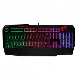 MSI Clavier pour jeu Vigor GK40 LED RGB Noir
