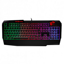 MSI Teclado Gaming Vigor GK40 LED RGB Negro