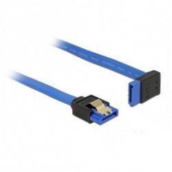 DELOCK Cavo SATA 84996 30 cm Azzurro