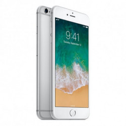 Apple Smartphone iPhone 6 Plus 5,5 16 GB HD (A+) (Refurbished) Silberfarben