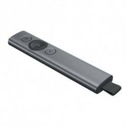 Logitech Spotlight apuntador inalámbricos Bluetooth/RF Gris