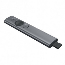Logitech Spotlight apuntador inalámbricos Bluetooth/RF Oro