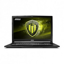 MSI Workstation WE63 8SI-495ES Nero Workstation mobile 39,6 cm (15.6) 1920 x 1080 Pixel Intel® Core™ i7 di ottava generazion...