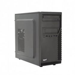 iggual Desktop PC PSIPCH401 i3-8100 4 GB RAM 1 TB HDD Schwarz