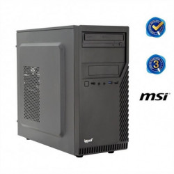 iggual Desktop PC PSIPCH40 i7-8700 8 GB RAM Black 120 GB