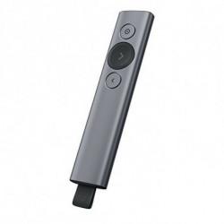 Logitech Spotlight Funk-Presenter Bluetooth/RF Grau