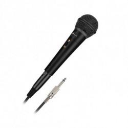 NGS Singer Metal Microfono per karaoke Nero