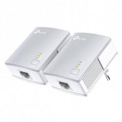 TP-Link Adaptador PLC Wifi TL-PA411KIT 600 Mbps LAN Blanco