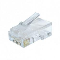 GEMBIRD Conector RJ45 Categoría 6 UTP LC-8P8C-002 50 uds