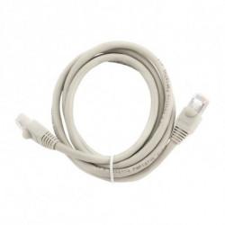GEMBIRD Cable de Red Rígido FTP Categoría 6 PP6 Negro 1 m
