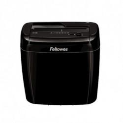 Fellowes Mikroschnitt-Aktenvernichter 36C 12 L 4 x 40 mm 50 Bettlaken Schwarz