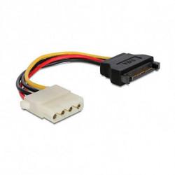 GEMBIRD Câble Alimentation SATA vers Molex CC-SATA-PS-M 15 cm