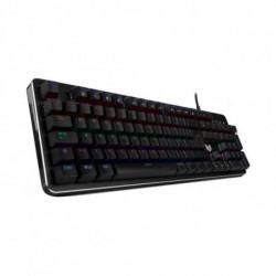 BG Clavier pour jeu RAVEN LED RGB Noir