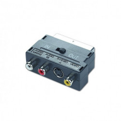 GEMBIRD Adattatore Bidirezionale SCART con RCA/S-Video CCV-4415 Nero