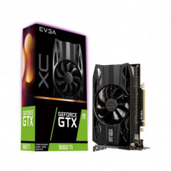 Evga Gaming Graphics Card GTX 1660 TI XC GDDR6 Black