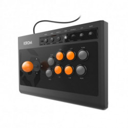 Krom Gamepad Kumite Black Orange