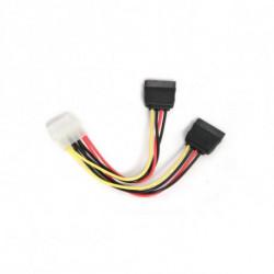 GEMBIRD Cable de Alimentación CC-SATA-PSY 15 cm