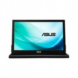 ASUS MB169B+ computer monitor 39.6 cm (15.6) Full HD LED Flat Black,Silver
