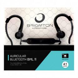 Brigmton BML 11 Mobiles Headset Monophon im Ohr Schwarz