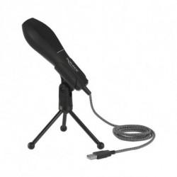 DELOCK Micrófono Sobremesa 65939 USB 2.0 Negro