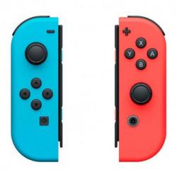 Nintendo Manette de jeu sans fil Joy-Con Bleu Rouge