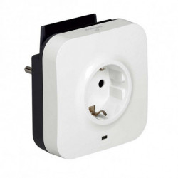 Legrand Wall Plug with 2 USB Ports 218985 USB 5V x 2 White