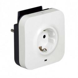 Legrand Wall Plug with 2 USB Ports 218985 USB 5V x 2 White