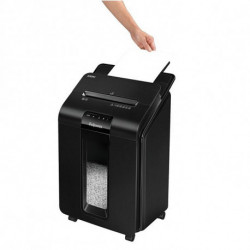 Fellowes Micro-Cut Paper Shredder AutoMax100M Black