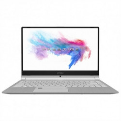 MSI Ultrabook PS42-021ES 14 i7-8565U 16 GB RAM 512 GB SSD Argenté