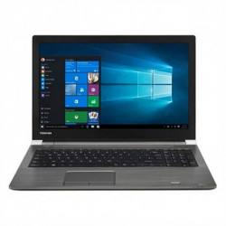 Toshiba Tecra A50-E-133 Cinzento Notebook 39,6 cm (15.6) 1366 x 768 pixels 8th gen Intel® Core™ i7 i7-8550U 16 GB DDR4-SDRAM...