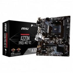 MSI Motherboard A320M PRO-M2 V2 mATX DDR4 AM4